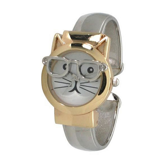 Olivia Pratt Womens Two Tone Bracelet Watch-H10065twotone