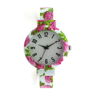 Olivia Pratt Womens White Bracelet Watch-H10053white