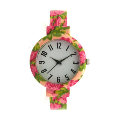Olivia Pratt Womens Orange Bracelet Watch-H10053orange