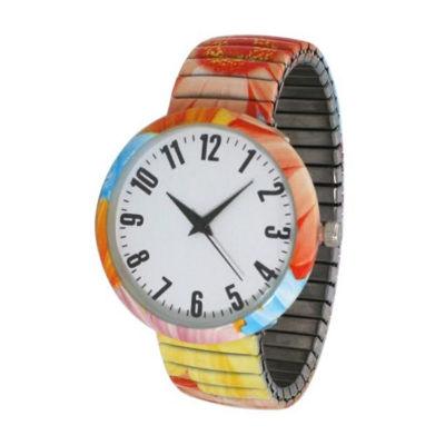 Olivia Pratt Womens Red Strap Watch-B80009red