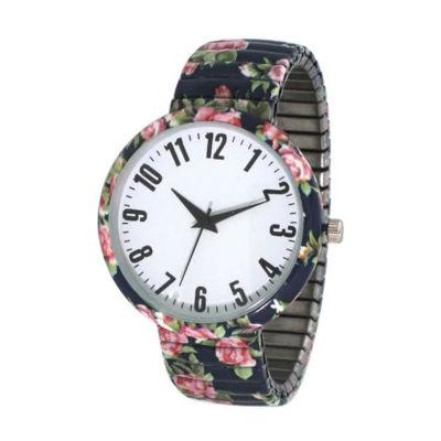 Olivia Pratt Womens Blue Strap Watch-B80009blue
