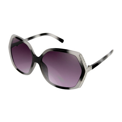 Rocawear Womens Full Frame Square UV Protection Sunglasses