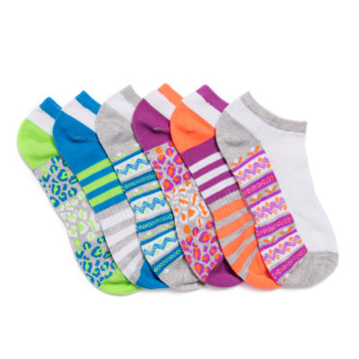 Muk Luks 6 Pair No Show Socks - Womens