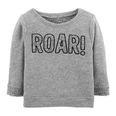 Carter's French Terry Roar Top- Baby Boy