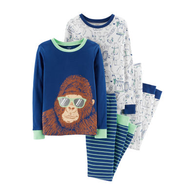 Carter's Psb Sleepwear 4-pc. Pajama Set Boys