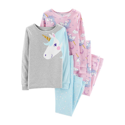 Carter's 4-pc. Pajama Set - Preschool Girls