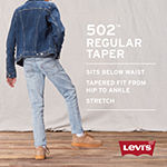 Levi's Boys 502 Tapered Stretch Regular Fit Jean Big Kid