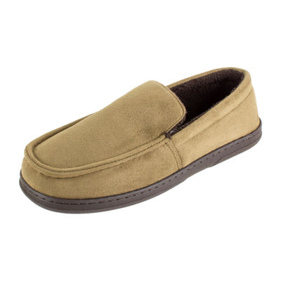Stafford® Microsuede Moccasin Slippers
