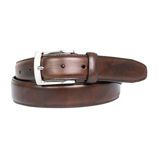 Dallas + Main Italian Leather Dress Belt