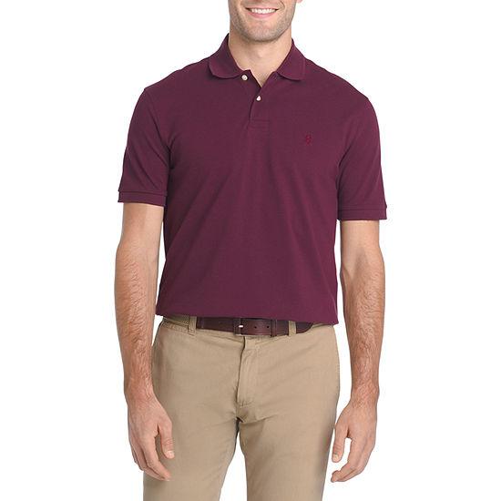 IZOD Mens Short Sleeve Polo Shirt Big and Tall
