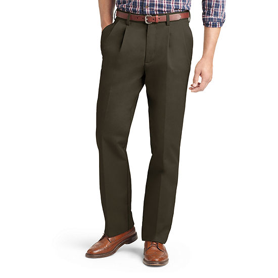 IZOD - Big and Tall Classic Fit Pleated Pant