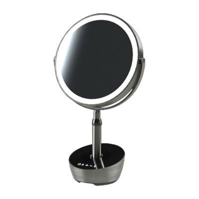 Sharper Image LED-Lit Vanity Mirror with Bluetooth-Compatible Speaker