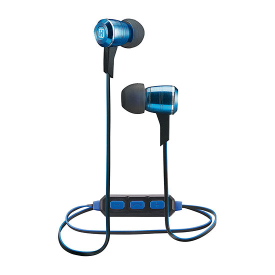 iHome iB29 Wireless Bluetooth Noise Isolating Metal Earbuds
