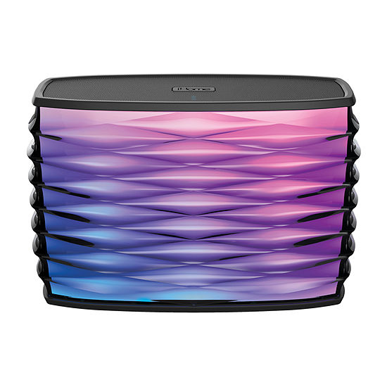 iHome iBT85B Color Changing Portable Bluetooth Stereo Speaker with Built-in USB Power Bank