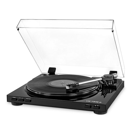 Victrola VPRO-3100 Pro Series USB Record Player with 2-Speed Turntable and Dust Cover