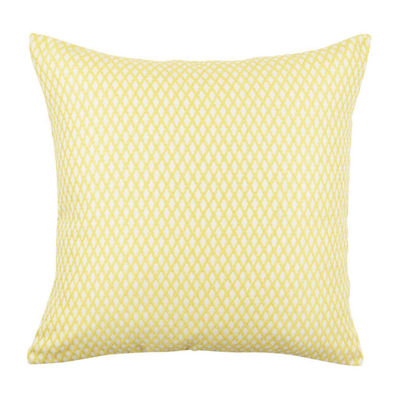 Vesper Lane Lattice Pattern Jacquard Throw Pillow