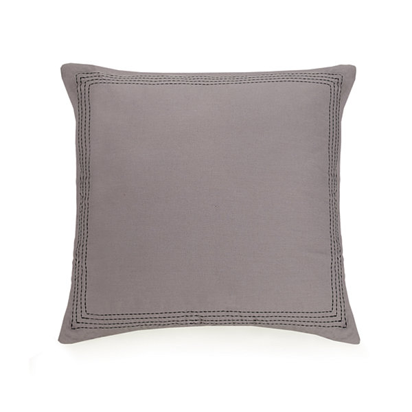 Ayesha Curry Livable Luxe Chevron Euro Pillow