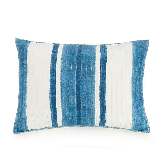 Ayesha Curry Indigo Shibori Pillow Sham