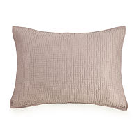 Ayesha Curry Labyrinth Pillow Sham, One Size , Pink