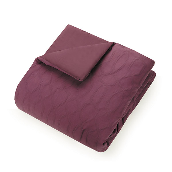 Ayesha Curry Aubergine 3-pc. Midweight Comforter Set