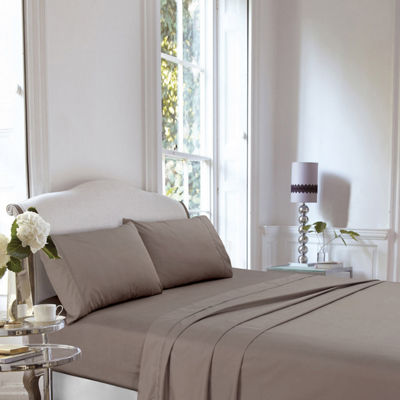 Tribeca Living 400 Thread Count Percale Sheet Set