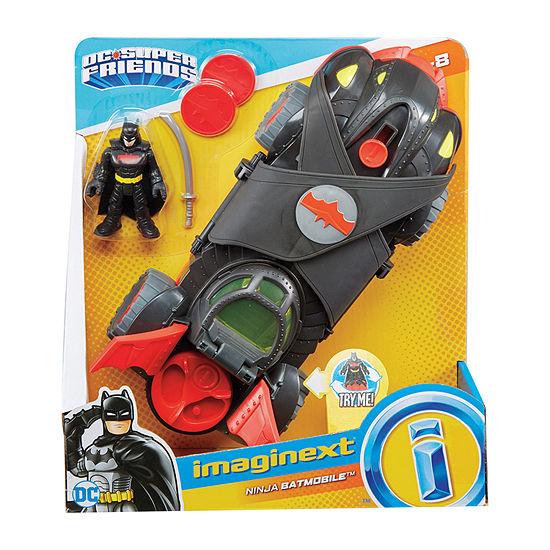 Imaginext Imaginext Dc Super Friends Ninja Armor Batmobile