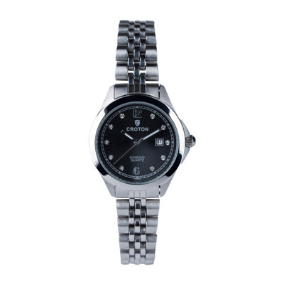 Croton N/A Mens Black Bracelet Watch-Cn307576bkmp