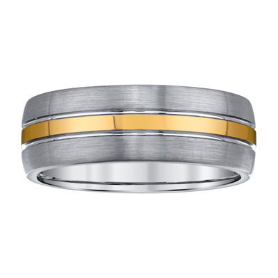 Mens 8mm Tungsten Wedding Band