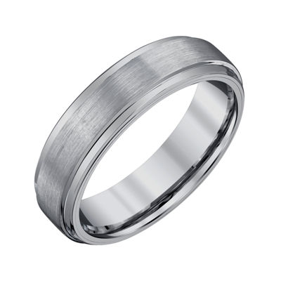 Mens 6mm Tungsten Wedding Band