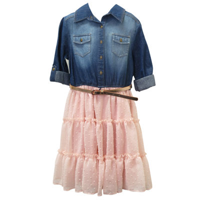 Arizona 3/4 Sleeve Tutu Dress - Bid Kid Girls