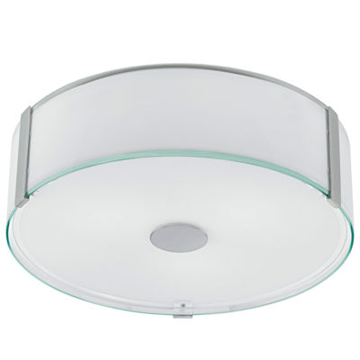 Eglo Varano 3-Light 16 inch Chrome Flush Mount Ceiling Light