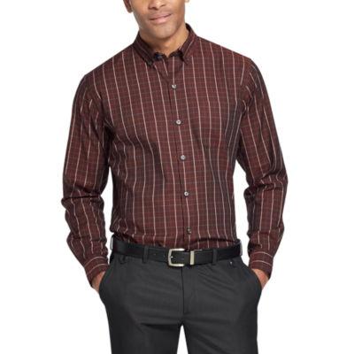Van Heusen Flex Non-Iron Stretch Long-Sleeve Button-Down Shirt