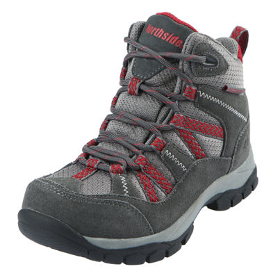Northside Little Kid/Big Kid Boys Freemont Wp Hiking Boots Flat Heel Lace-up
