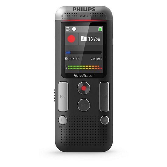 Philips Dvt2710 Digital Voice Tracer Recorder 8 Gb