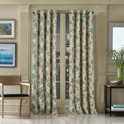 Queen Street Varick Blackout Rod-Pocket Curtain Panel