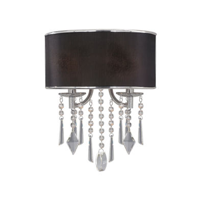 Echelon 2-Light Wall Sconce in Chrome