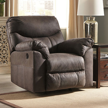 Signature Design by Ashley Boxberg Rocking Recliner, One Size , Brown