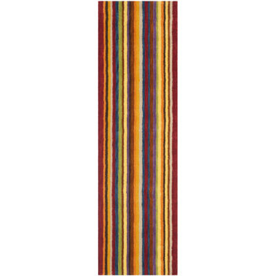 Safavieh Himalaya Collection Adolf Striped RunnerRug