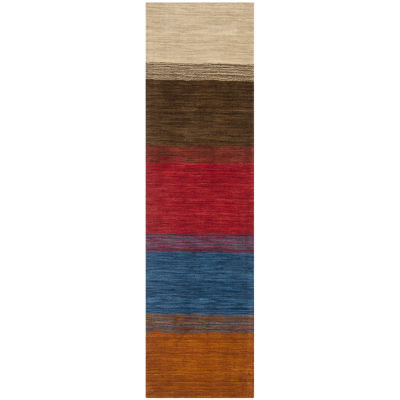 Safavieh Himalaya Collection Ilarion Striped Runner Rug