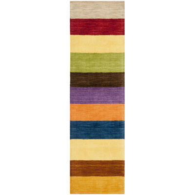 Safavieh Himalaya Collection Jessalyn Striped Runner Rug