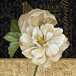 Metaverse Art Antique Still Life Rose Gallery Wrapped Canvas Wall Art