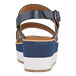 a.n.a Womens Nassau Strap Sandals