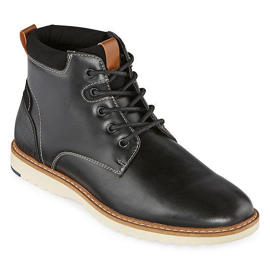 Arizona Mens Laughton Flat Heel Lace Up Boots