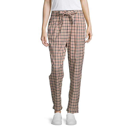 Almost Famous Paper Bag Waist Pull-on Pants-juniors