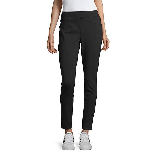 Arizona-Juniors Womens High Waisted Skinny Pull-On Pants