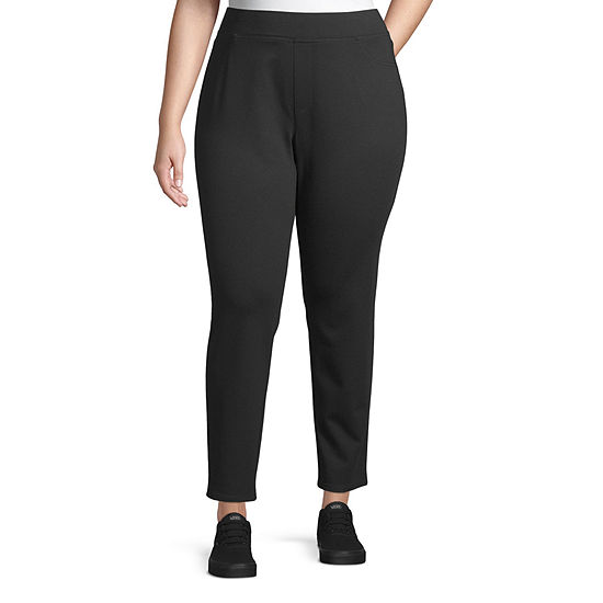 Arizona-Juniors Plus Womens High Rise Skinny Pull-On Pants
