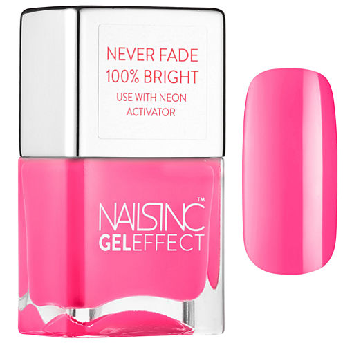 NAILS INC. Claridge Gardens Stay Bright Neon Nail Polish