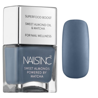 NAILS INC. Gloucester Crescent Sweet Almonds Nail Polish Powered By Matcha
