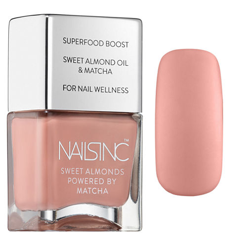 NAILS INC. King William Walk Sweet Almonds Nail Polish Powered By Matcha