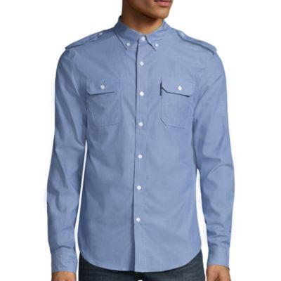 Ecko Unltd.® Long-Sleeve Turner Woven Top
